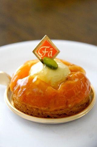 Apricot and pistachio tart   Japanese Sweet & Salty Snacks   Pinterest