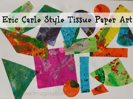 How I paint my tissue papers