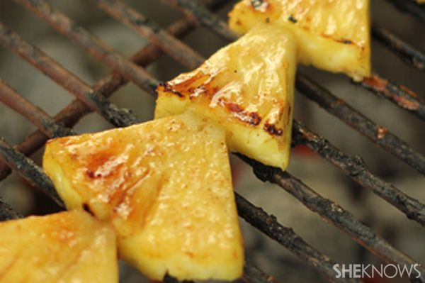 Grilled pineapple shortcake | Cook me - ideas for work | Pinterest