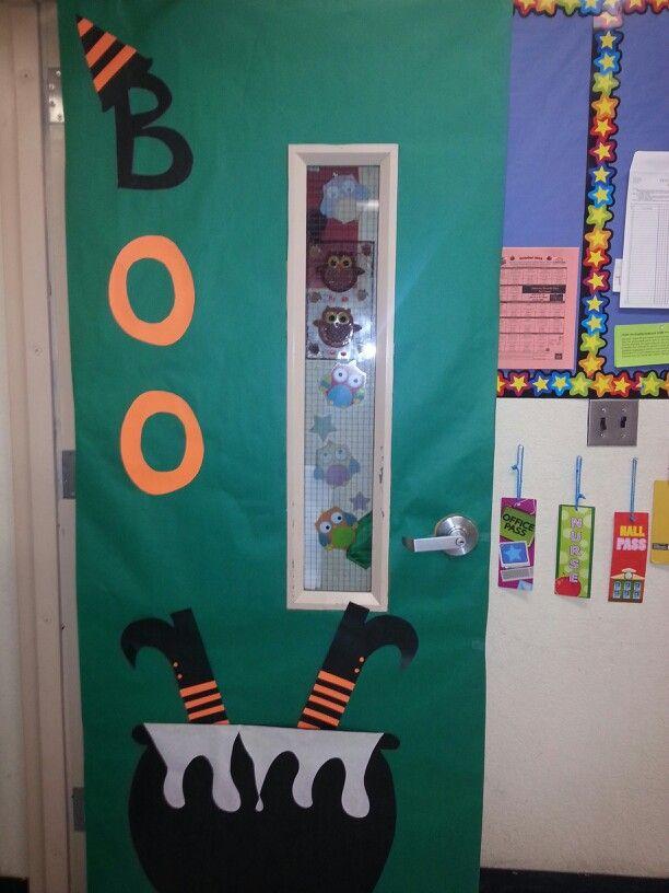 Halloween Door Cole Pinterest