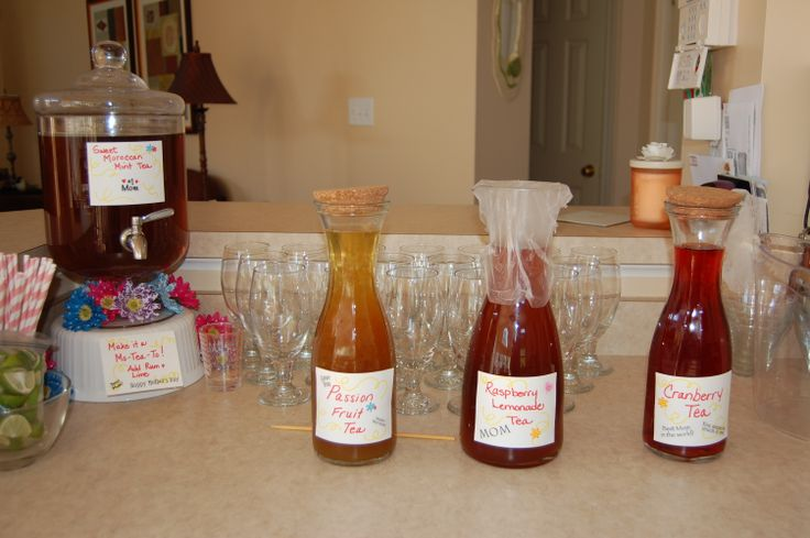 """Moroccan Mint """"Mo-Tea-Tos"""" (add rum and lime...yummy!) Fruit Iced T..."""