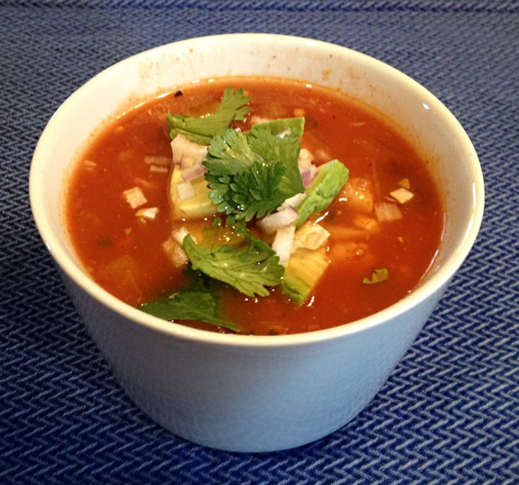 Tortilla Soup   Vegan and vegetarian food   Pinterest