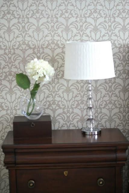 master bedroom wall stencil painting ideas pinterest