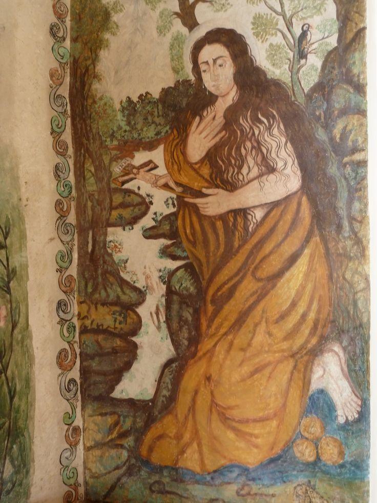 Magdalena   Mural Monestir Pedralbes s.XVIII