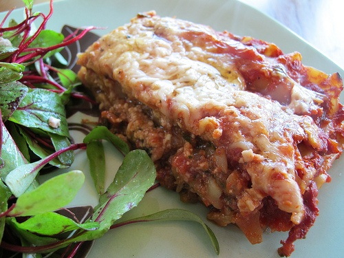 Lasagna with Chard and Sausage Click to read the recipe