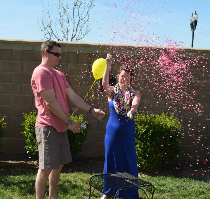 Balloon Pop Gender Reveal Party