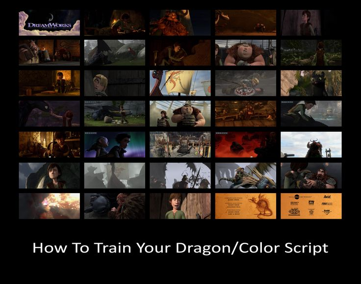 how to train your dragon 3 script