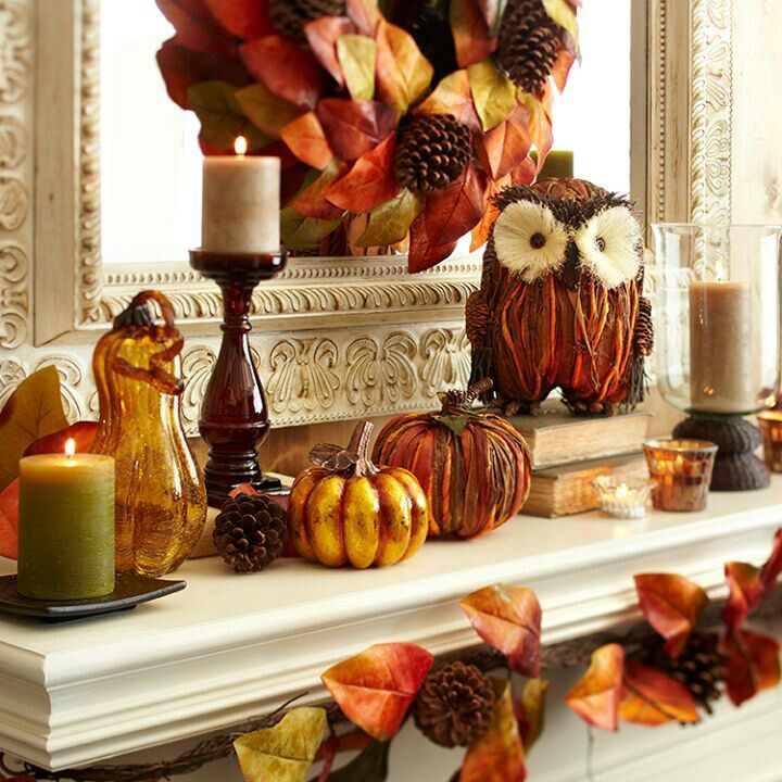 Fall Mantle Fall Decorating Pinterest Home Decorators Catalog Best Ideas of Home Decor and Design [homedecoratorscatalog.us]