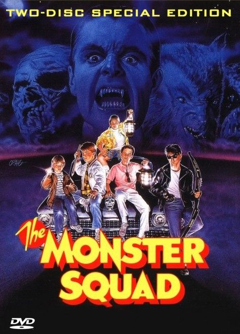 The monster squad 1987 movie poster madness pinterest