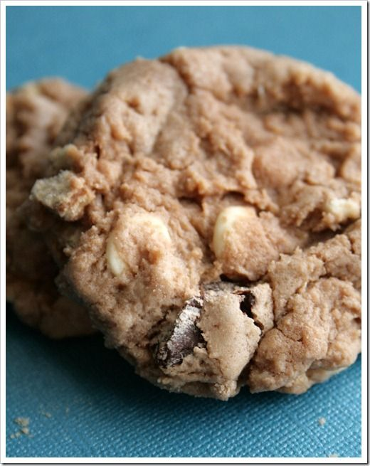 Malted Kit Kat Cookies Recipe — Dishmaps
