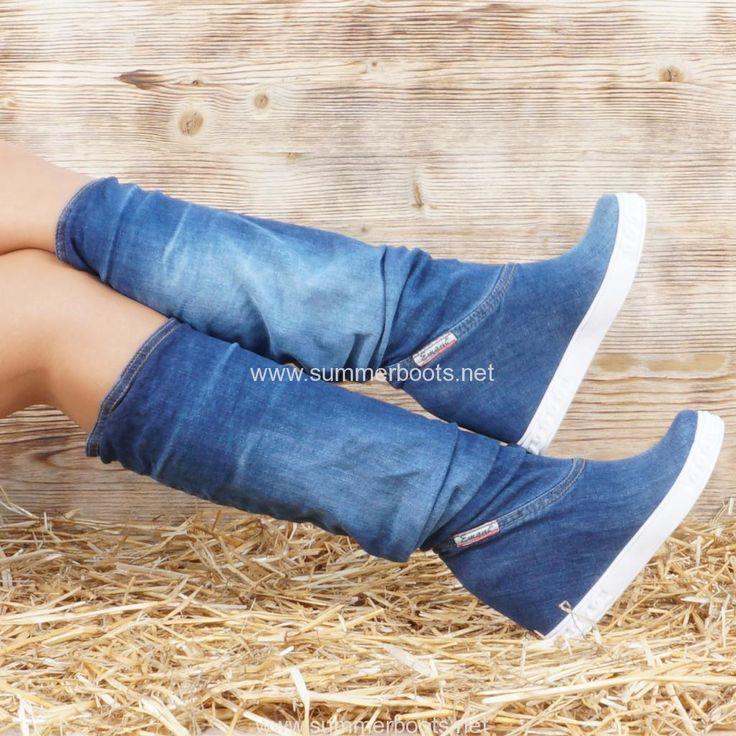 Джинсовую обувь женскую в интернет магазине