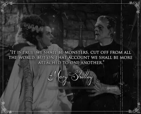 frankenstein monster quotes