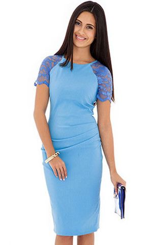 French Blue Casey Dress
