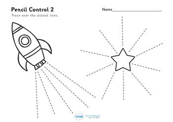 FREE - Pencil Control Worksheets | Education - Preschool | Pinterest