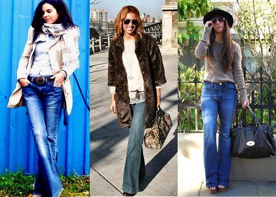 street style pantalon campana