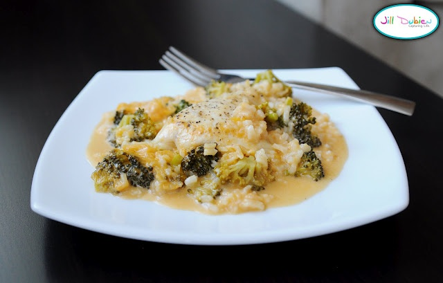 Cheesy chicken, broccoli, and rice bake | Deliciousness | Pinterest