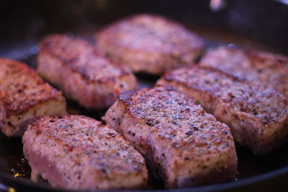 Simple Pan Seared Pork Chops | Recipes | Pinterest