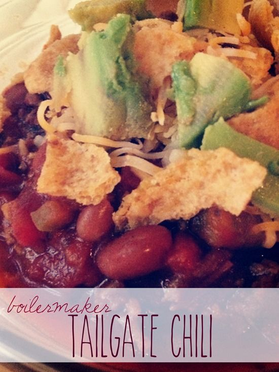 Boilermaker Tailgate Chili // 5 stars with over 3000 reviews on All ...