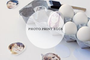 Photo Print Easter Eggs - OMG, a must-try DIY for #Easter! @A Subtle Revelry