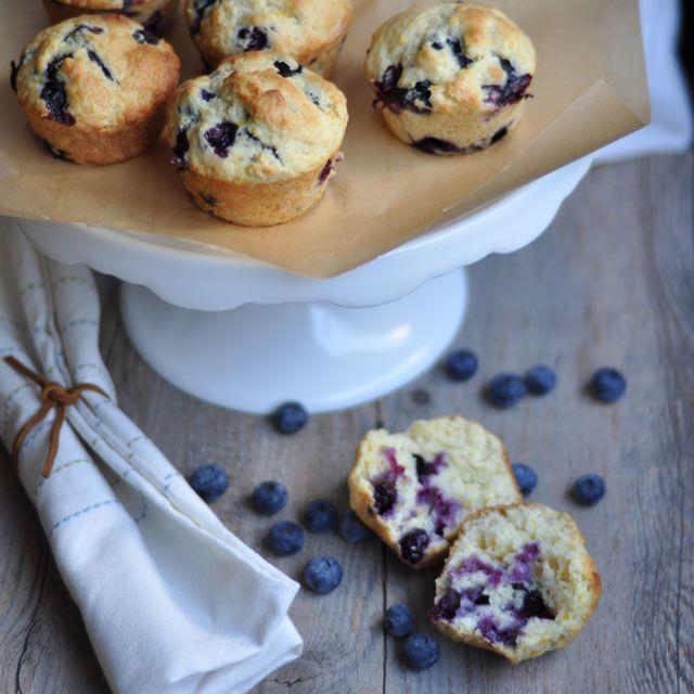 blueberry muffins split Blueberry Buttermilk Muffins: My Lifelong ...