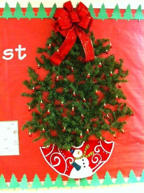 free christmas bulletin board ideas teachers