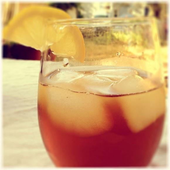 tea juice of 1 lemon and 3 wedges 1 oz smooth ambler bourbon fresh ...
