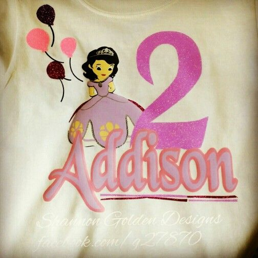 Personalized Princess Birthday Shirt | Newest Items @ Shannon Golden ...: pinterest.com/pin/284149057714558085