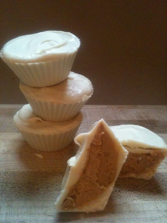 Vegan White Chocolate Peanut Butter Cups by HippieCakes on Etsy, $11 ...