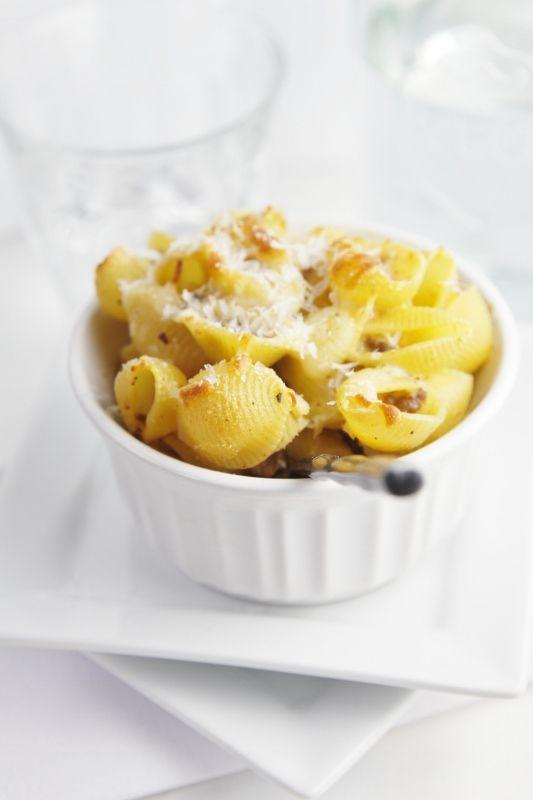 Lasagna Macaroni and Cheese | Recipe