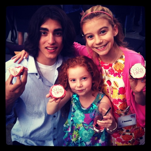 Blake Michael  G  Hannelius and Francesca CapaldiG Hannelius And Blake Michael
