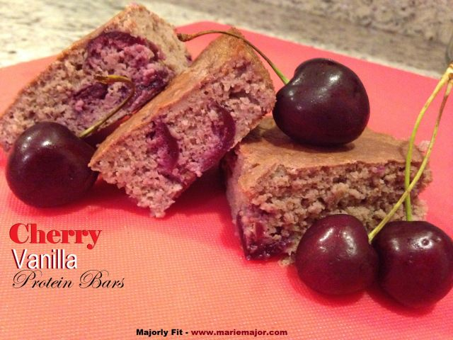 Cherry Vanilla Power Bars Recipe — Dishmaps
