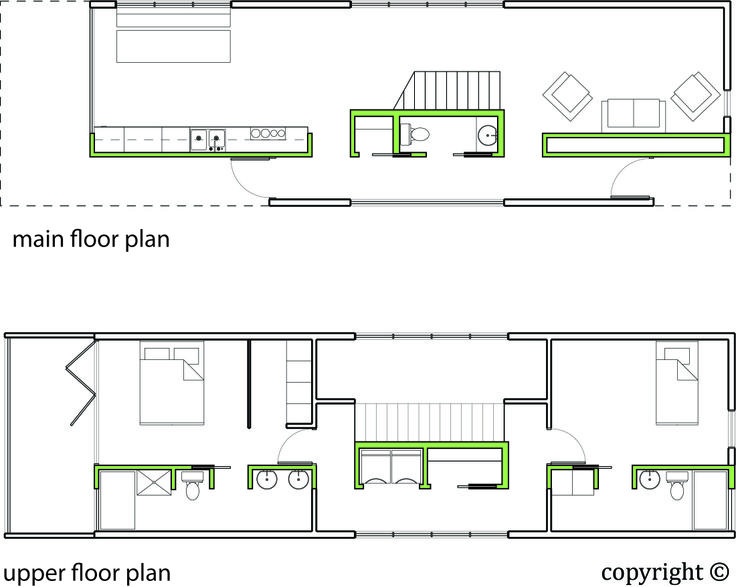 Pin by june caedmon on inspired by home design pinterest for Shotgun floor plans