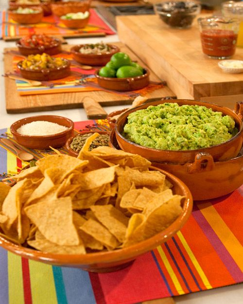 Roasted Garlic Guacamole - Martha Stewart Recipes May 2010 Guacamole ...