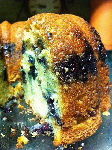 Blueberry Sour Cream Coffee Cake | Good recipes | Pinterest