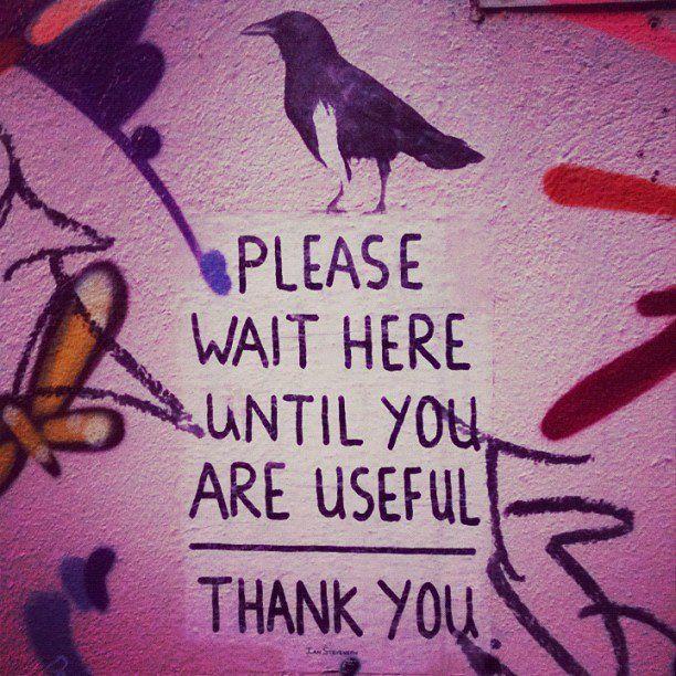 Wise advice. Photo by @marniervl