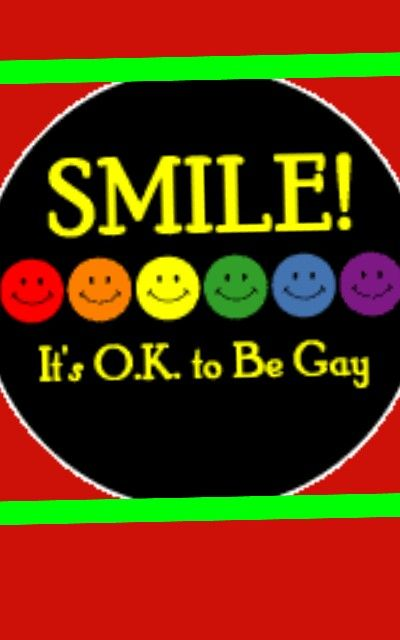 Its not okay to be gay