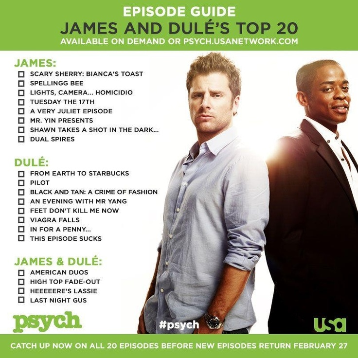 Psych episode guide viagra falls