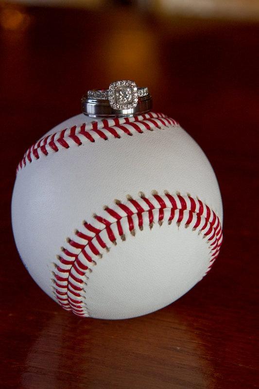 Wedding Ring On Baseball Forte Photography Cinema Pinterest