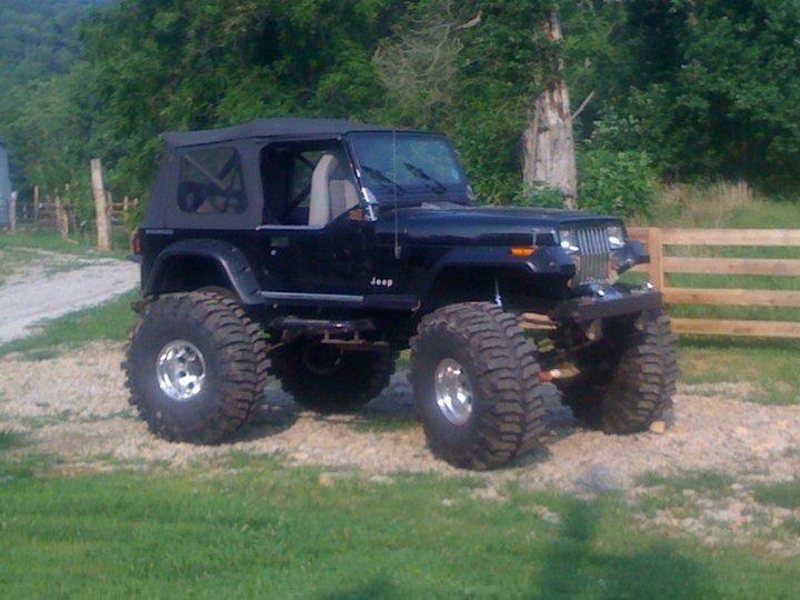 1990 Jeep Wrangler YJ  4×4 world  Pinterest