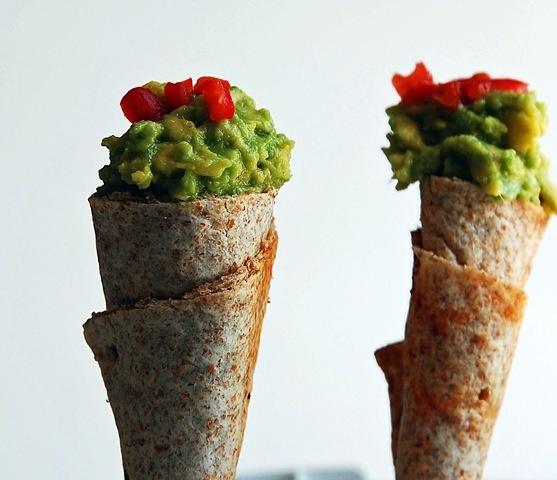 guacamole cones