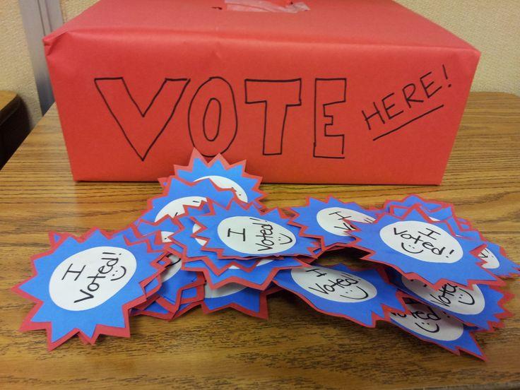 Classroom Voting Ideas : Class election classroom pinterest