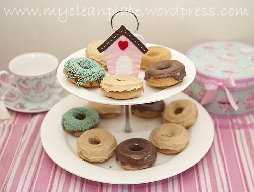 Gluten free, lactose free donuts!   Low FODMAP!   Pinterest