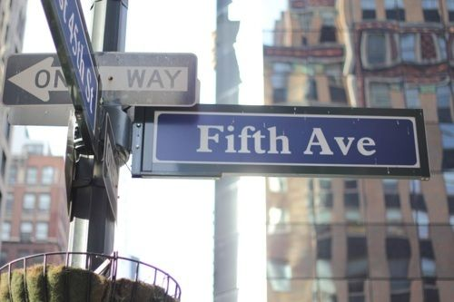 Fifth avenue great for buying or just plain window shopping