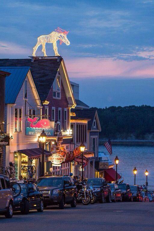 Bar Harbor Maine Beautiful Places Pinterest
