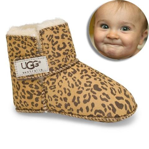 baby uggs animal print