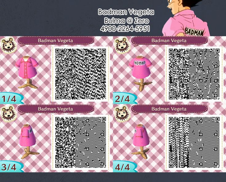 Animal Crossing New Leaf Male Cat Outfit Qr Code