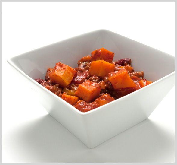 Butternut Beef Chili | recipes | Pinterest
