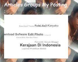 Di Blog Tips cara membuat blog, Info cara membuat blog, mendaftar ...