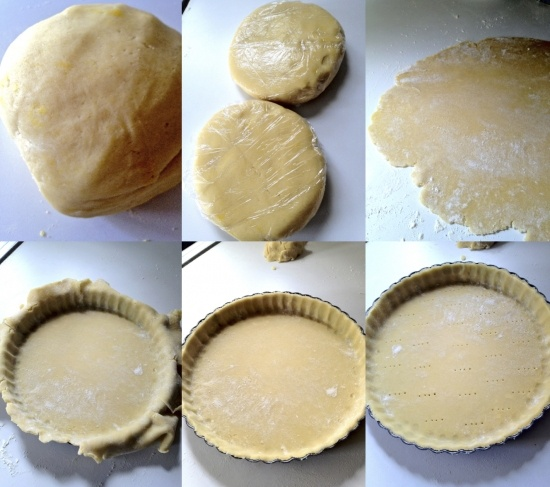 ... (sweet pastry) recipe... really versatile dough for tarts and pies