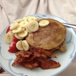 Grain and Nut Whole Wheat Pancakes Allrecipes.com
